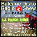 Balearic Disko with DJ Rob Green ft. DJ Francis Ronan