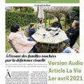 Version Audio de l'article de La Vie Avril 2021