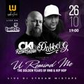 DJ OKI (Solo Cut) X DJ DABBEL G presents U REMIND ME Solo #22 - The Golden Years Of R&B & HIP HOP