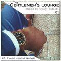 The gentlemen's lounge 001-Mixed by Shinji Takashi