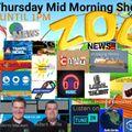 The Thursday Mid Morning Show with Berni Macken & Adam Mills - 1st April 2021