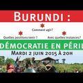 Histoire de Savoir : La crise burundaise avant les élections (épisode 1)