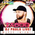 DJ PAULO live @ URGE (Space Miami Labor Day 2018)