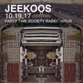 10.19.17 Jeekoos on Party Time Society Radio WNUR Chicago