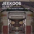 10.19.17 Jeekoos on Party Time Society Radio WNUR Chicago