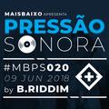 Pressão Sonora - 08-06-2018