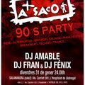 A SACO 90'S PARTY 31-01-2014 (Salamandra 2 L'H)