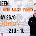 Mac Queen Livestream 26-6-2021: DJ JORDY (The Last One)
