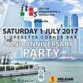 David Carollo @ IAS 2nd Anniversary Party (1.07.2017 - L'Operetta Corner Bar - Singapore)