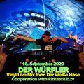 DJ DER WÜRFLER - VINYL LIVE MIX -  FROM DER WEIßE HASE 16.09.2020
