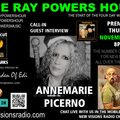 The Ray Powers Hour - Interview with ANNEMARIE PICERNO