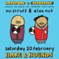 Mr Scruff & Alexander Nut B2B DJ Set, Birmingham hare & Hounds, Saturday 20th February 2016
