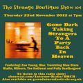 The Strange Boutique Show 104