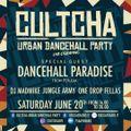 CULTCHA LIVE! ft DANCEHALL PARADISE - 20.06.2020
