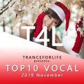TranceForLife - Vocal Trance Top 10 (November 2019)