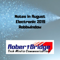 Notes in August 2019