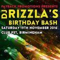 REMARC - LIVE AT RIZZLAS BDAY BASH - CLUB PST - BIRMINGHAM 19/11/16