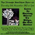 The Strange Boutique Show 103
