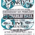 Charlie Hall (Drum Club) at Herbal Tea Party The New Ardri in Manchester 16 February 1994