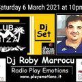 Club Ibiza set 06 March 2021 dj Roby Marrocu