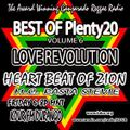 FEB 12 2021 Heart Beat of ZION w EMCEE RASTA STEVIE's BEST of Plenty20 Vol 6 LOVE REVOLUTION