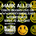 Crate Digger Radio show 269 w/ Mark Allen on www.noisevandals.co.uk
