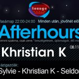 Afterhours 008 - live mix by Khristian K (08-11-13)