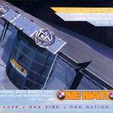 DJ Brockie w/ Mc's Det & Skibadee - One Nation 'Biggest & the Best' - The Sanctuary - 29.3.97