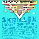 2014.01.10 - Amine Edge & DANCE B2B Claude Vonstroke @ Holy Ship - MSC Divina, Great Stirrup Cay, BS