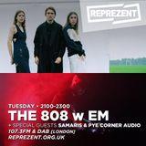 THE 808 With M - Reprezent 107.3FM - Podcast 069 - SAMARIS & PYE CORNER AUDIO - 24.01.17