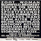 Wolle XDP @ Melt! Festival - Ferropolis Gräfenhainichen - 04.08.2001