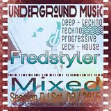 DJ SET MIXED BY FREDSTYLER ( selection 03/2015 )