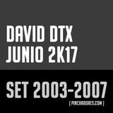 David DTX - Promotional set 2003-2007