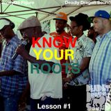 Know Your Roots : Lesson #1