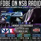 Linda B Breakbeat Show Guest Mix For The FDBE Show Hosted By FA73 On NSB Radio