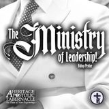 7-26-17 The Ministry of Leadership! - Bishop Perdue
