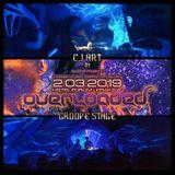 CJ Art @ Egodrop pres. Overloaded - Groove Stage (Forum Przestrzenie - Krakow) [02-03-2019]
