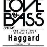 Haggard - Live @ The Love & Bass Show (Interview)