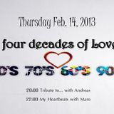 Tribute to... Four Decades of Love part 1 (14-02-13 R1 Radio)