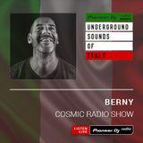 BERNY - Cosmic Radio #008 (Underground Sounds Of Italy)