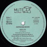 DEPECHE MODE - NEW LIFE (1981)  VINYL