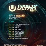 The Chainsmokers - LIVE @ Road To Ultra Delhi India, 08/09/17