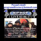 HipHopPhilosophy.com Radio - LIVE - 03-06-17