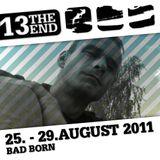 Bad Born @ Summer Spirit Festival 2011 - Jetzt schlägt's 13 - 27.08.2011 Hangar III 04.00-05.00