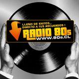 """Sesión de Mezclas en Vivo en Nuestro Programa Bailable """"Gracias a Dios Que es Viernes"""" Radio 80s.cl"""