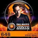 Paul van Dyk's VONYC Sessions 646 - Steve Dekay
