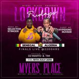 LOCKDOWN FRIDAYS LIVE @MYERS LOUNGE-SELECTOR STINGER FT MC NUHSIR