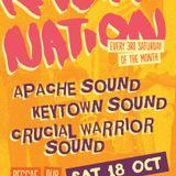 Crucial Warrior Sound @ Rasta Nation #52 (Oct 2014) part 1/6