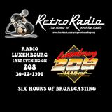 RADIO LUXEMBOURG - FINAL EVENING ON 208 - 30-12-1991 - COMPLETE