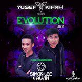 Yusef Kifah pres. EVOLUTION Radioshow 011 + Simon Lee & Alvin EXTRA DOSAGE #EVO011